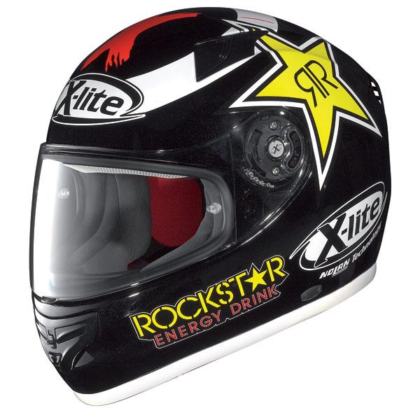 Casco moto X-Lite X-603 Replica N-Com Lorenzo metal black