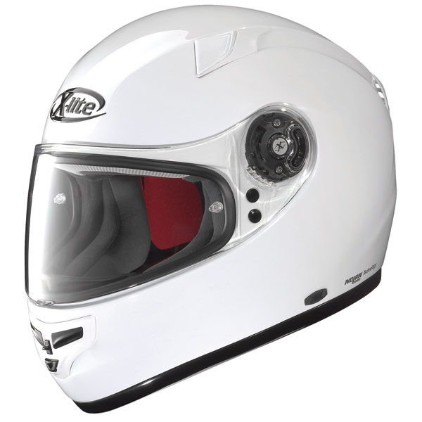 Casco moto X-Lite X-603 Start N-Com bianco
