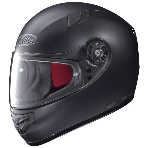 X-lite X-603 Start N-Com flat black fullface helmet
