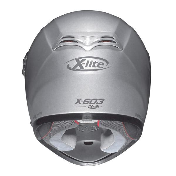 Helmet Full-face X-Lite N-Com X-603 Spin metal white