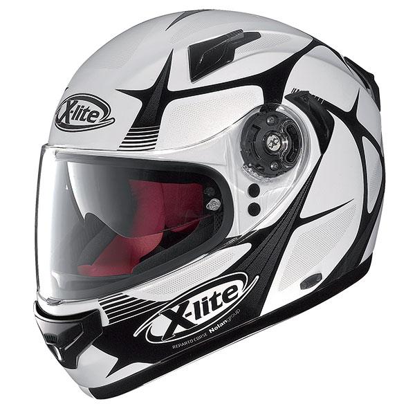 X-Lite X-661 Frantis N-Com full face helmet White Black