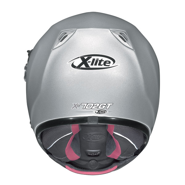 Helmet Full-face X-Lite X702GT N-Com Dynamic metal black-red