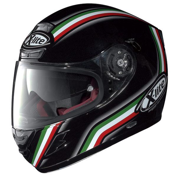 Casco moto X-lite X702 GT League N-Com nero metal