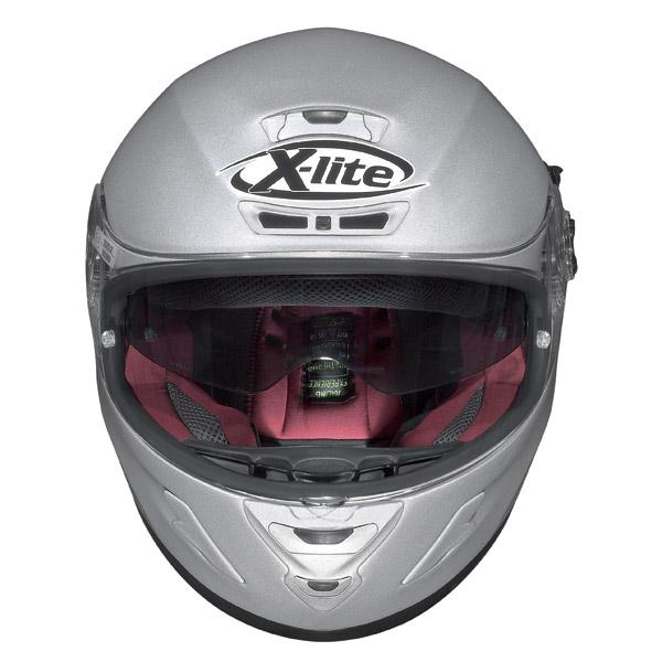 Helmet Full-face X-Lite X702GT N-Com Scraped metal white