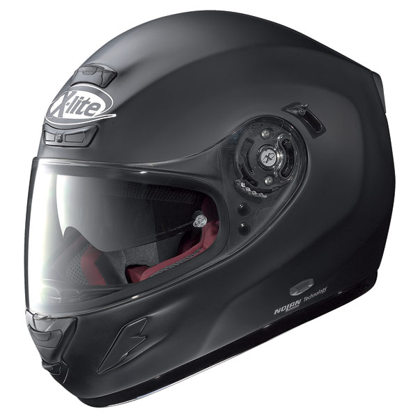 Casco integrale  X-Lite X702GT N-Com Start nero opaco