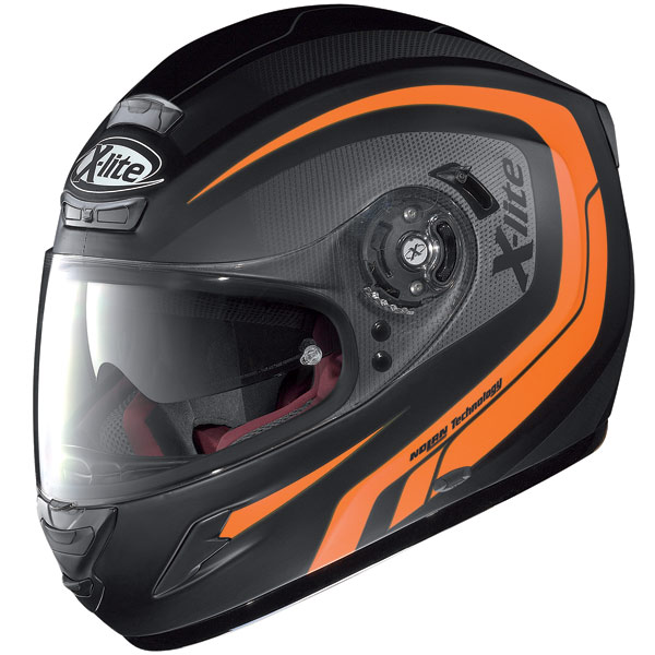 Helmet Full-face X-Lite X702GT N-Com Swift flat black-orange