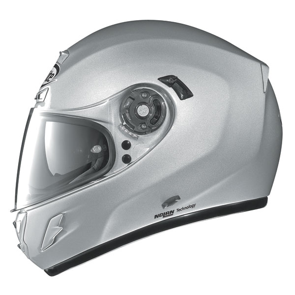 Casco moto X-Lite X702 Start N-COM Silver
