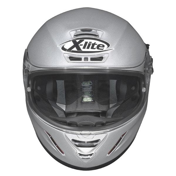 Casco moto X-Lite X702 Swift N-COM nero-arancio opaco