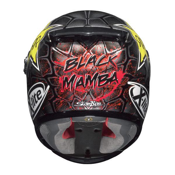 Casco moto X-Lite X-802R Replica Lorenzo Mamba metal black