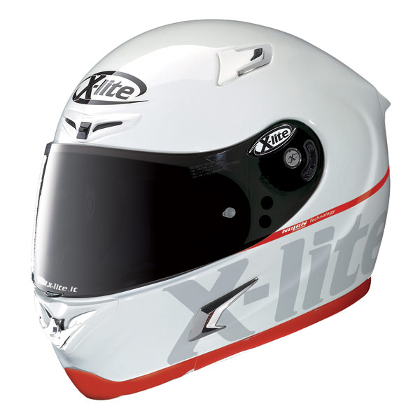 Casco moto X-Lite X-802R Bluster bianco