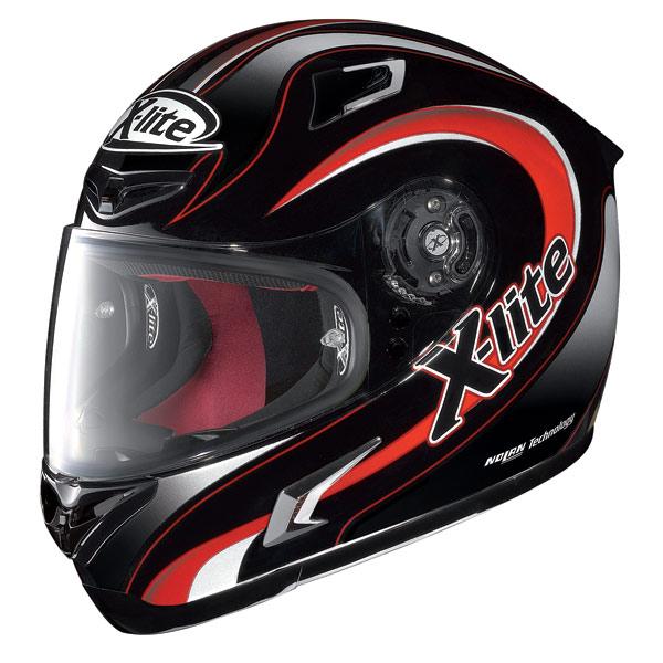Casco moto X-Lite X-802R Twist nero