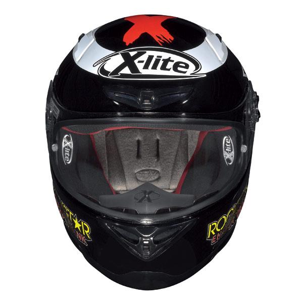 Casco moto X-Lite X-802R Replica Lorenzo black