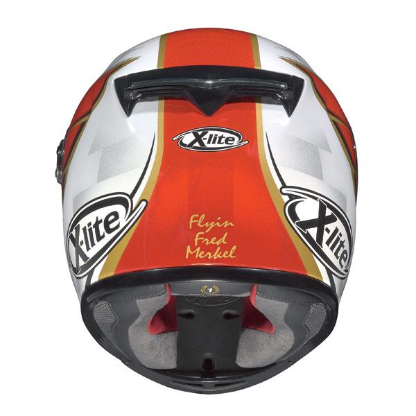 Casco moto X-Lite X-802R Replica Merkel