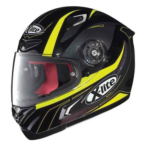 X-Lite X-802R Flize full face helmet Black Yellow