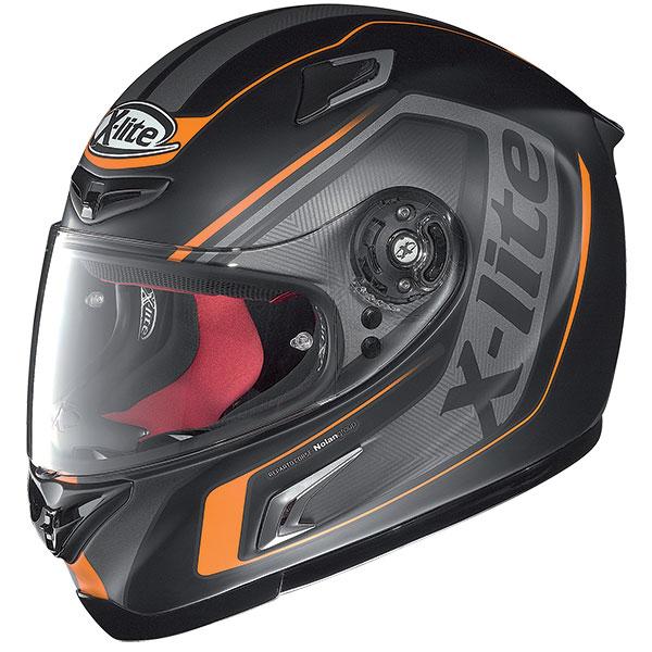 X-Lite X-802R Haryos full face helmet Matte Black Orange