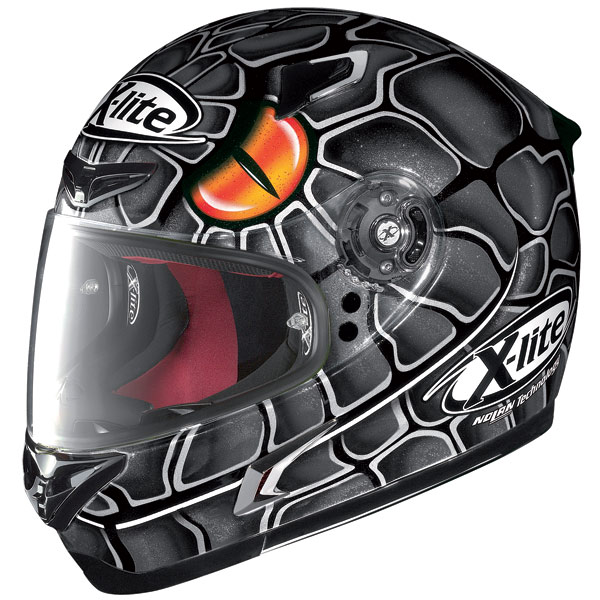 Helmet Full-face X-Lite X802R Mamba metal black