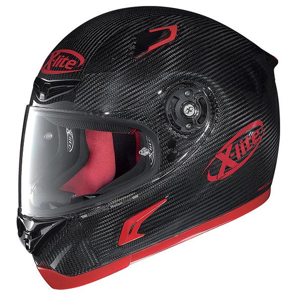 X-Lite X-802R Puro Sport full face helmet Red Carbon