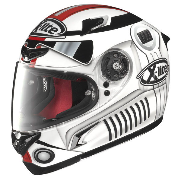Helmet Full-face X-Lite X802R Replica Guarnoni white