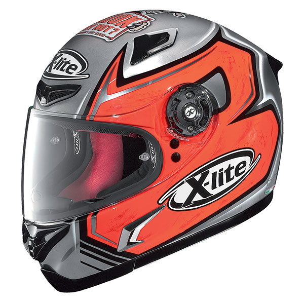X-Lite X-802R Replica Baiocco full face helmet Chrome