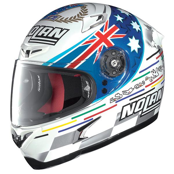 Nolan X802R Replica Stoner Tribute full face helmet
