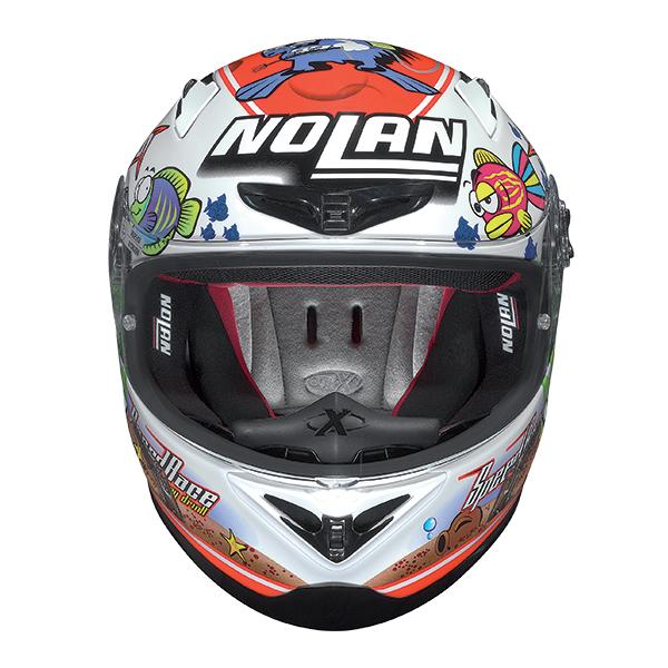 Nolan X802R Replica Melandri Acquarium full face