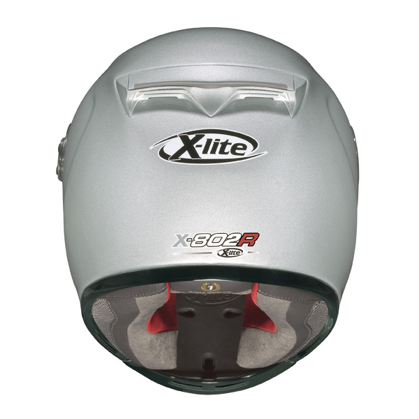 Casco integrale  X-Lite X-802R Snapshot nero-rosso