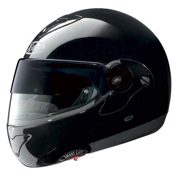 Casco moto X-Lite X-1002 N-COM Elegance nero
