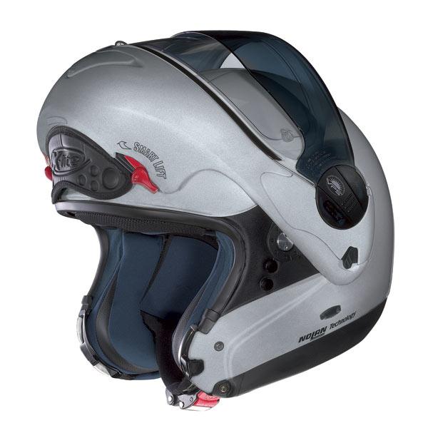 Casco moto X-Lite X-1002 N-COM Elegance White