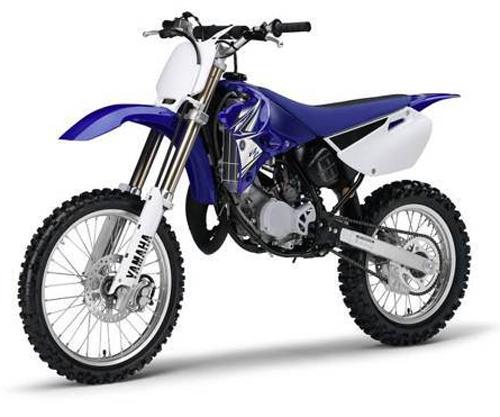 Kit plastiche moto Ufo Yamaha YZ 85cc 2013 Bianco