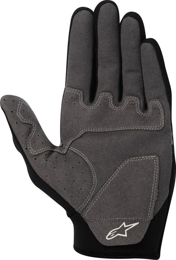 Alpinestars Youth Racer off-road gloves orange-white-black