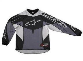 Alpinestars Racer youth jersey grey