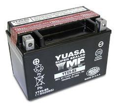 Batteria Yuasa YTX9-BS, 8A, positivo SX, 150x87x105mm