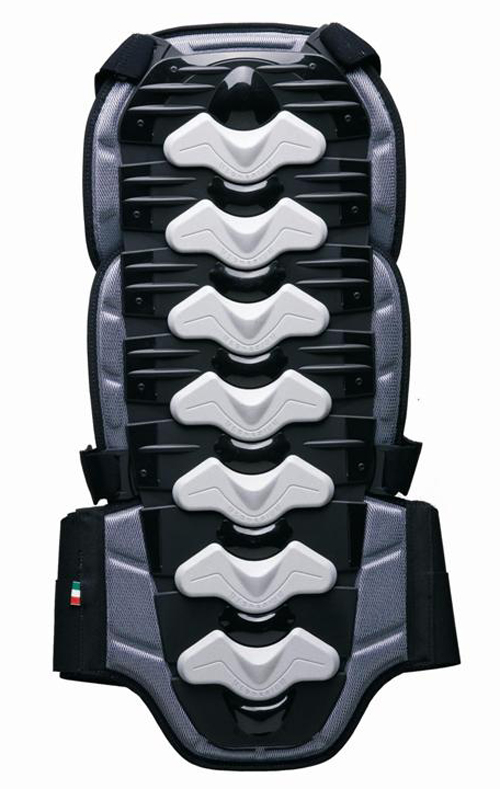 Protezione schiena BACK PROTECTOR ZERO7 omologata Nero