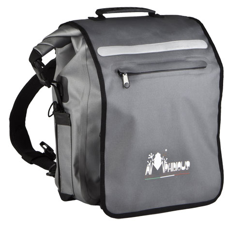 Waterproof Backpack Amphibiuos Vega Grey