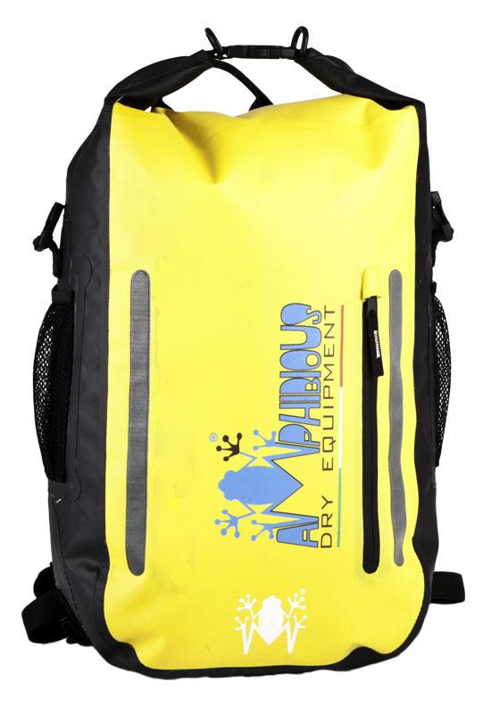 Amphibious Atom Waterproof Backpack Yellow