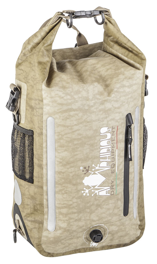 Amphibious Atom Waterproof Backpack Grey Light Ages
