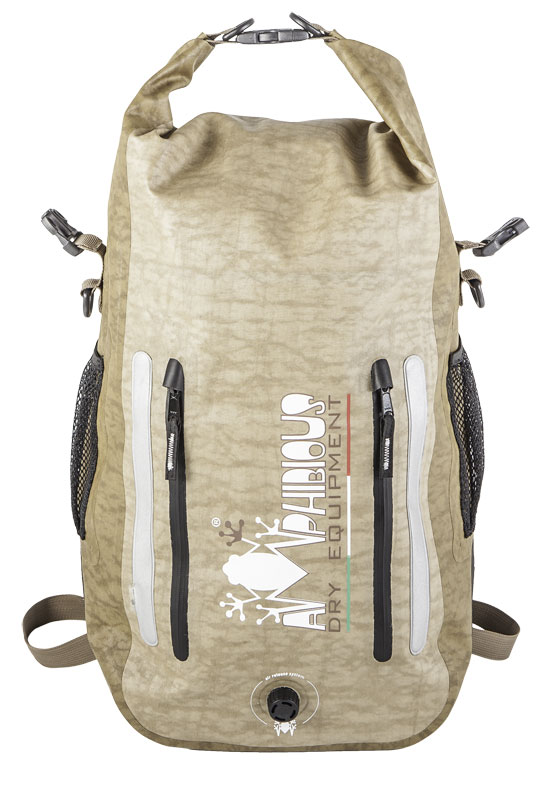 Waterproof Backpack Light Amphibious Cofs Evo Black