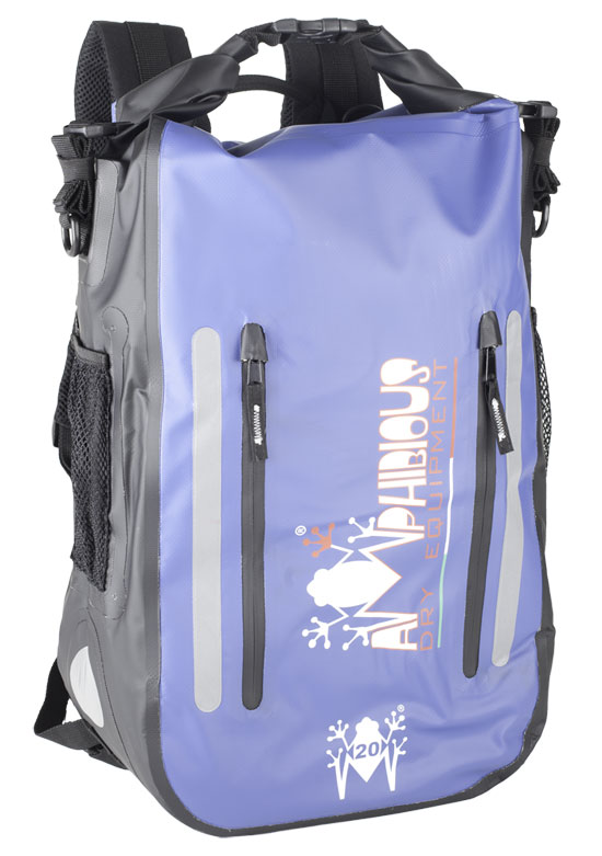 Amphibious Waterproof Backpack Blue Cofs