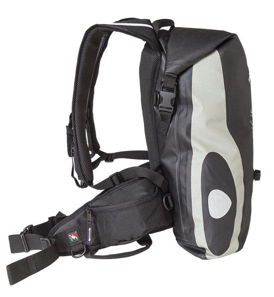 Amphibious Waterproof Backpack Grey Raptor
