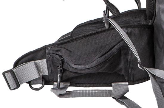 Apex Amphibious Waterproof Backpack Red