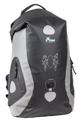 Amphibious Waterproof Backpack Stealth Grey