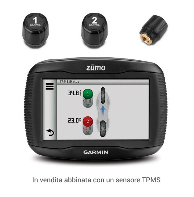 Garmin Zumo 390LM TPMS Satellite navigation maps Europe