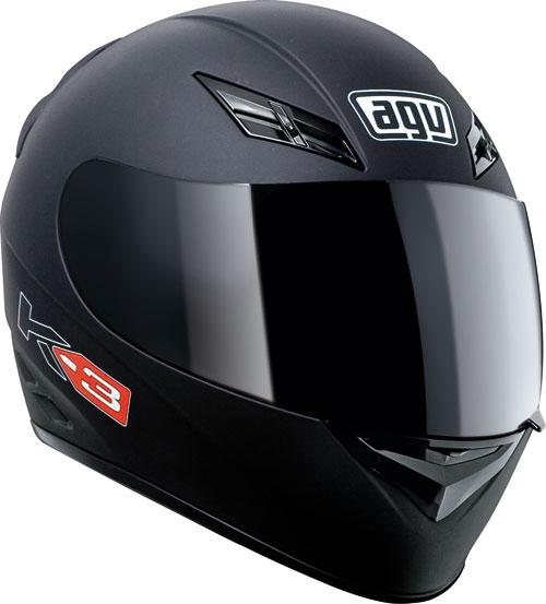 Agv K-3 Mono matt black full face helmet