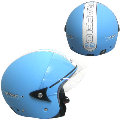Casco moto MDS by Agv Free  No Traffic blu
