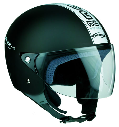 Casco moto MDS by Agv Free  No Traffic nero