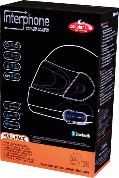 Interfono Bluetooth Full Face - per caschi integrali