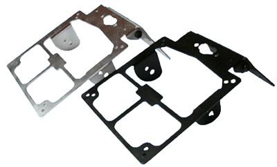 Portatarga universale in alluminio Sparbike