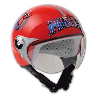 HDM Spiderman City Kid Helmet - Col. Red