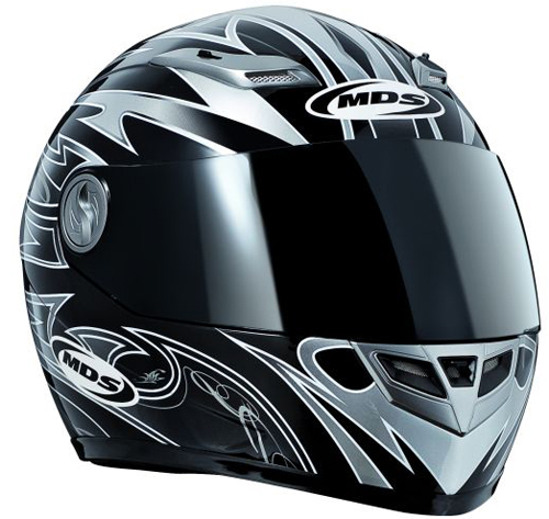 Casco moto MDS by Agv Sprinter Whirl nero