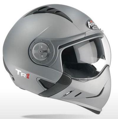 Casco moto Airoh TR1 Color silver